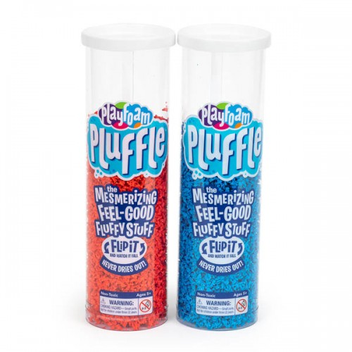 Playfoam Pluffle™ Blue & Red 2-Pack