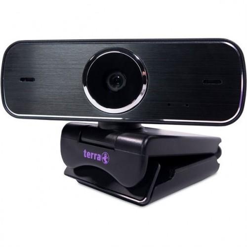 Terra Full HD USB Webcam in Black