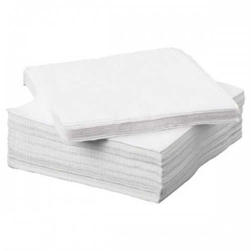White Napkin 2 PLY 330x330 (Box 2000)