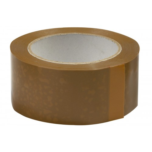 Box 36 - 50mm Brown Vinyl Packaging tape NTS