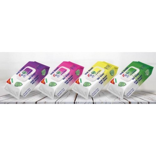 Detox Scented Antibacterial Wipes (Pack 120)