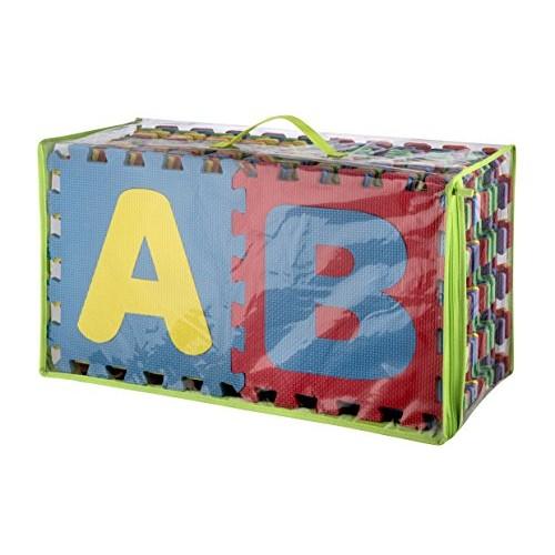 ALPHABET PUZZLE PLAY MAT IN ZIP BAG