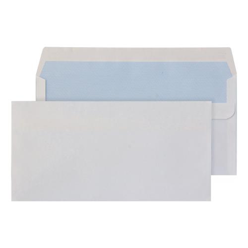 GLENKOVER 100 DL WHITE SEAL 4.3X8.7 Envelopes (PK 500)