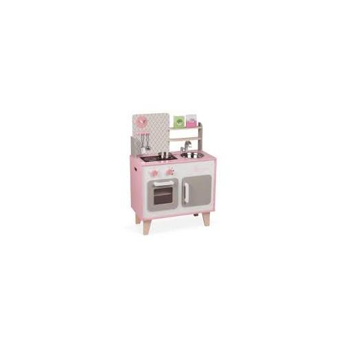 KidKraft Let's Cook children's kitchen, wood 53395