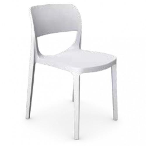 OAIR  Chair  No arms -White