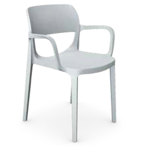 OAir Chair With Arms Grey