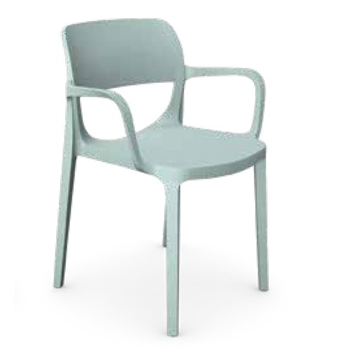 OAIR Chair with Arms -green