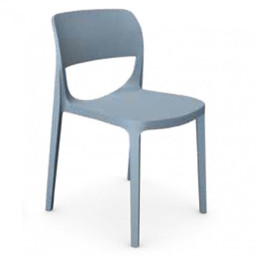 Oair Chair No Arms - Blue
