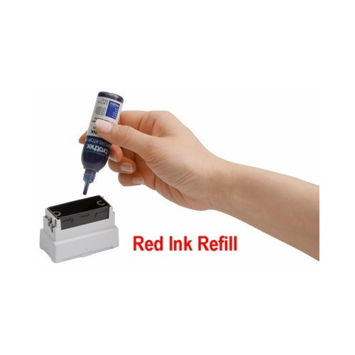 RED INK FOR BROTHER SELF INKING STAMPS