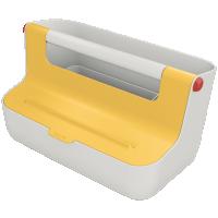 The NEW Leitz Cosy Storage Carry Box - Yellow