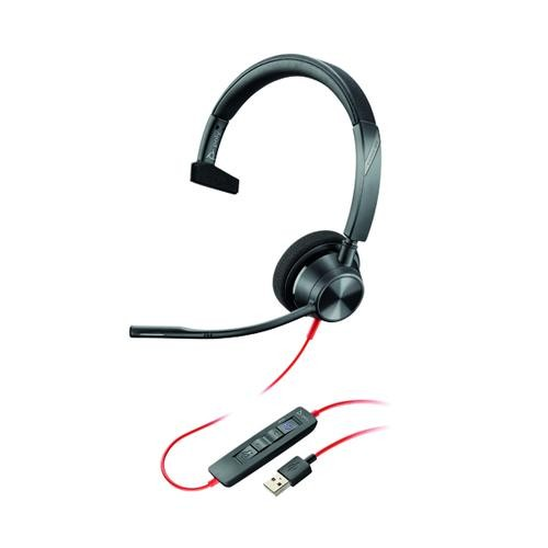 POLY Blackwire 3310 Headset USB A