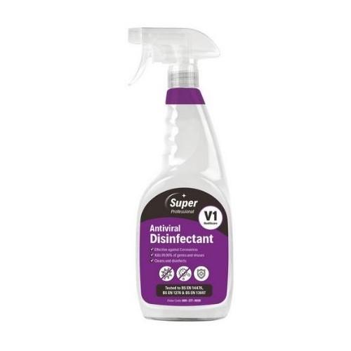 Single Antiviral Disinfectant Spray 750ml