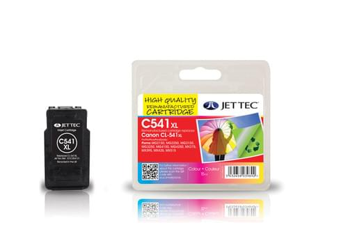 Jettec Remanufactured Canon PG541XL Inkjet Cartridge (C541CXL)