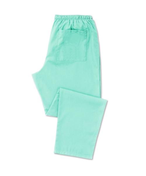 Scrub Trousers Full Elastic Aqua - D398AQ-XSR