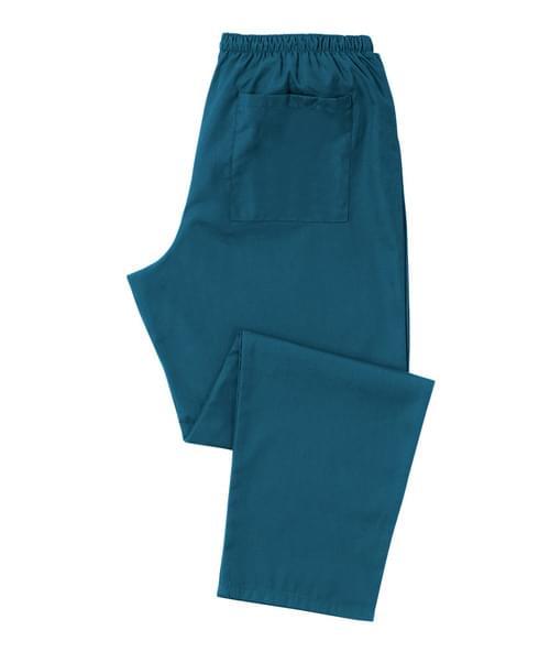 Scrub Trousers Full Elastic Carribean Blue - D398CA-XLR