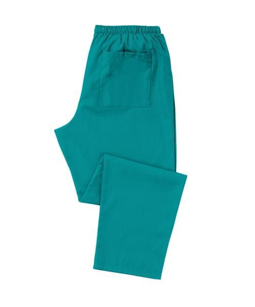 Scrub Trousers Full Elastic Jade - D398JA-XSR