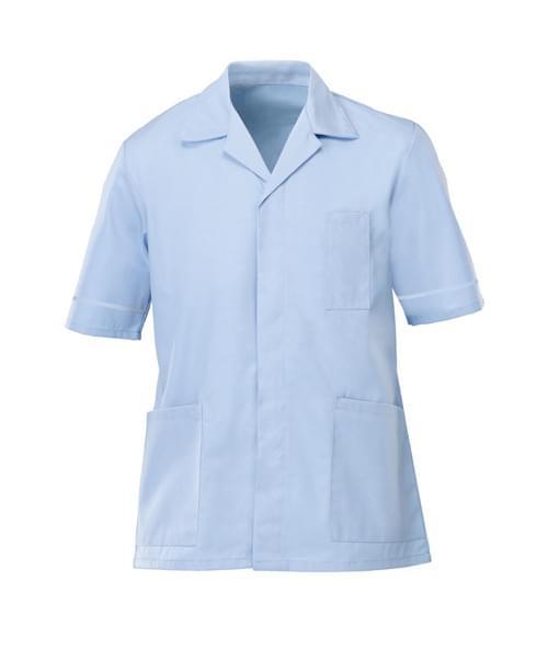 Men's S/S Tunic Pale Blue/Pale Blue - G103SK-84