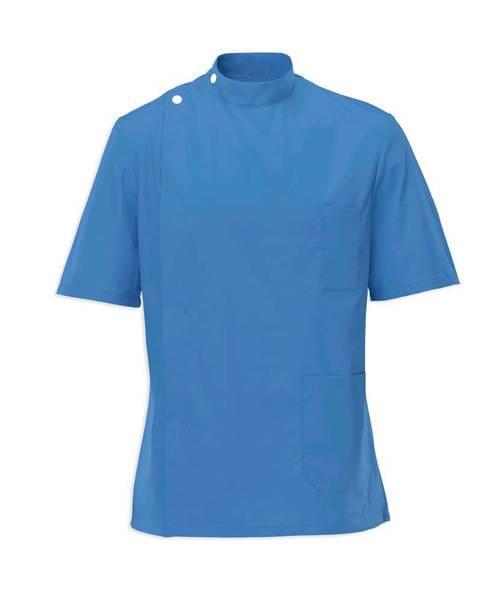 Men's S/S Tunic Hospital Blue - G86HB-80