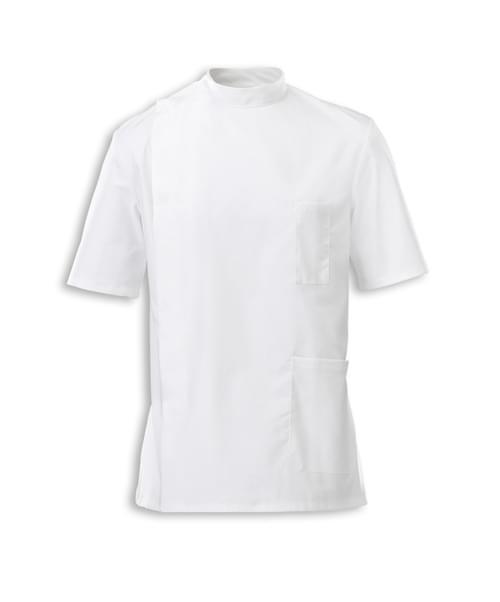 Men's S/S Tunic White - G86WH-104