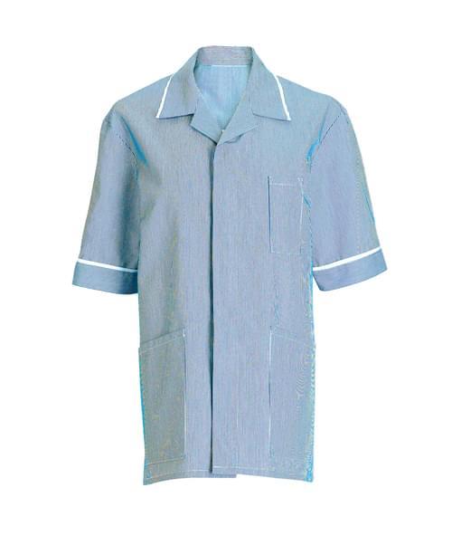 Men's Tunic Blue/White Stripe - NM173KC-104