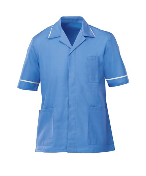 Men's Lightweight Tunic Hospital Blue/White - NM48HB-80