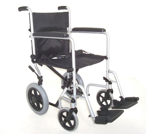 "Folding Steel Transit W/chair (Seat 19""x 16"")"