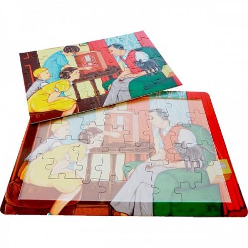 Jigsaw - set of 4 Les Ives 4 seasons