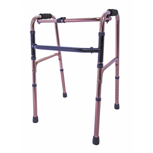 Reciprocating Aluminium Walking Frame - Bronze