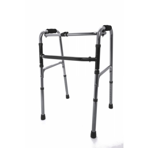 Reciprocating Aluminium Walking Frame - Silver