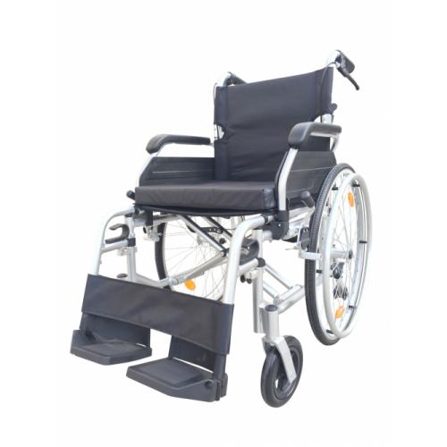 "ZT- HI LINE -18"" Seat -Aluminium Self Propelled Wheelchair - Silver"