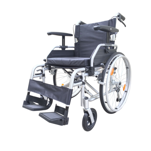 "T Line  20"" Seat - Aluminium Self Propelled Wheelchair - Silver"