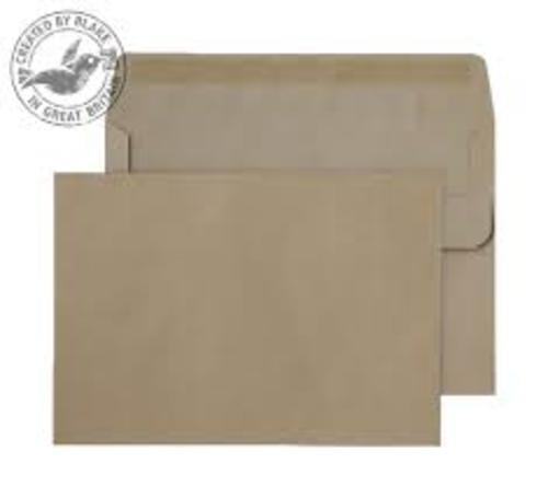 Recycled Brown Manilla C6 Envelopes pack 1,000
