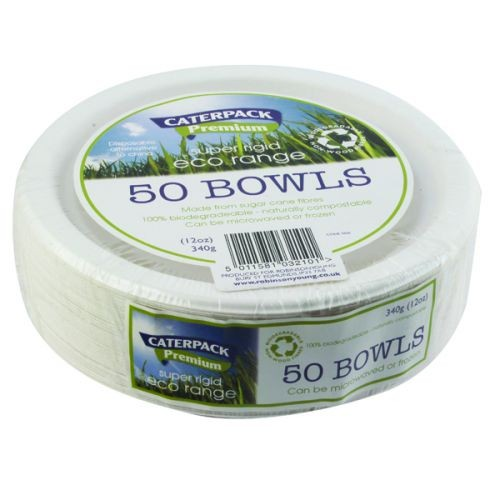 Biodegradable 12oz Bowls Pack of 50