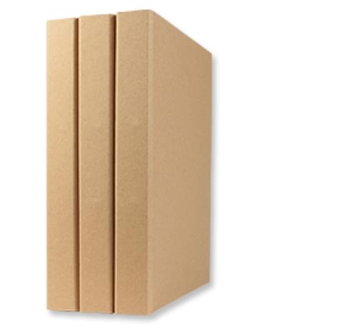 Natural Brown Recycled Ring Binder A4 30mm spine