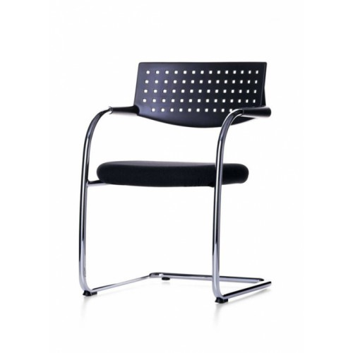 Remanufactured Vitra Visavis Meeting Chair