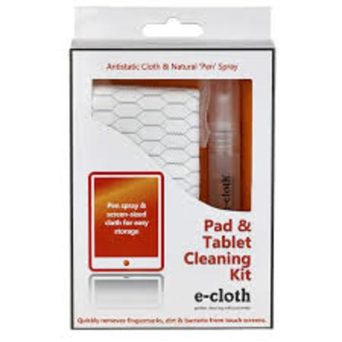 E Cloth Pad and Tablet Cleaning Kit