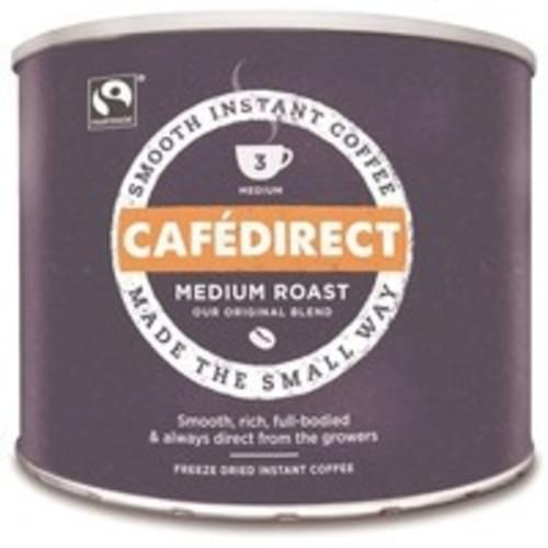 Cafe Direct Fairtrade Coffee Granules 500g Tin