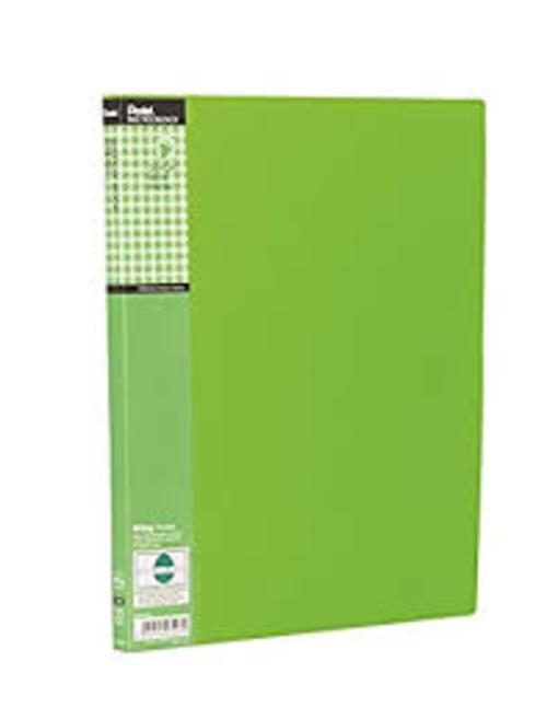 Pentel Fresh Recycled 20 Pocket Display Book Green