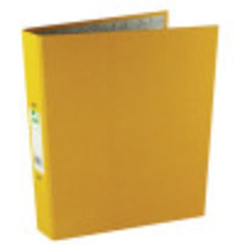 Recycled Ring Binders Yellow x 10