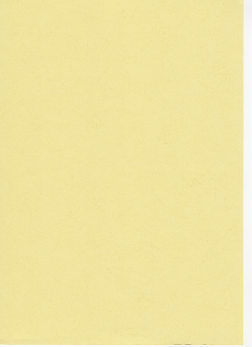 Pale Yellow Recycled Card A4 190gsm 100 sheets