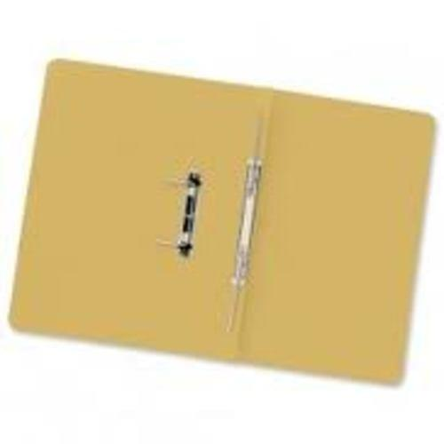 Recycled Spirosort Spring File Yellow x 25