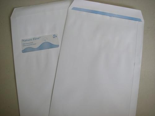Recycled White C4 Window Envelopes pack 250