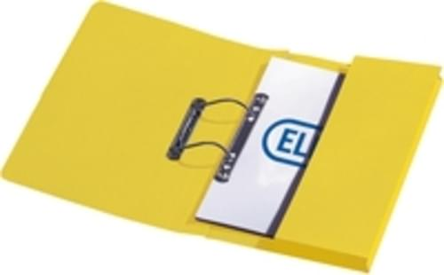 Recycled Yellow Transfer Pocket Files