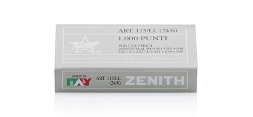Aluminium Non Rust standard staples No16 24/6 pack 1,000