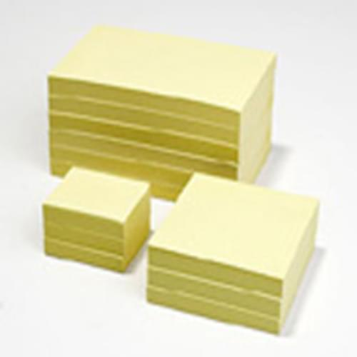 Recycled Economy Sticky Notes 75mm x 75mm 6 pads