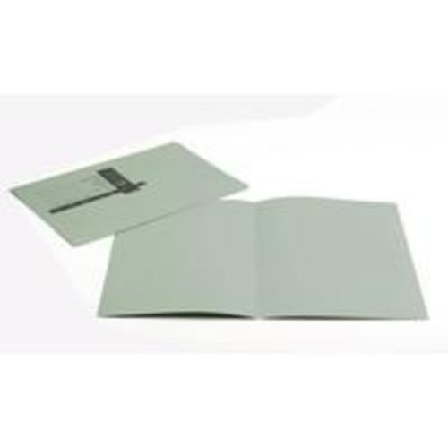 Recycled Square Cut Green Folders x 100