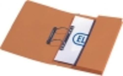 Recycled Orange Transfer Pocket Files KF26097