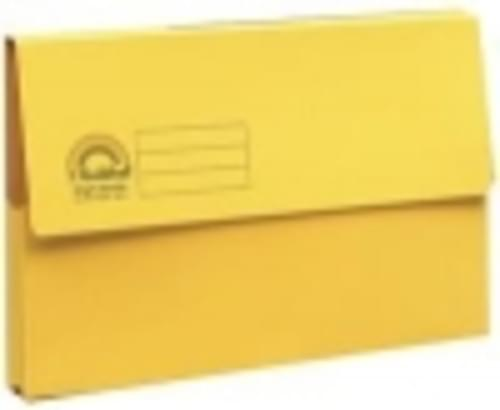 Guildhall Forever Recycled Bright Manilla Wallet Pack of 25 Yellow
