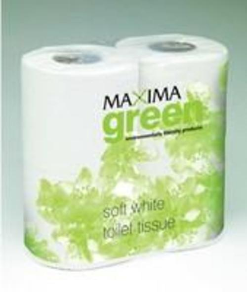 Maxima Green 2 ply Recycled Toilet Tissue 320 sheet x 36 Rolls OR 200 sheets x 48 Rolls
