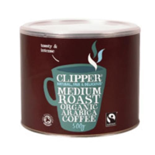 Clipper Organic Medium Roast Coffee Granules 500g